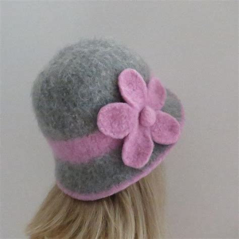 felted knit hat pattern felted hat cloche by carolinagal craftsy