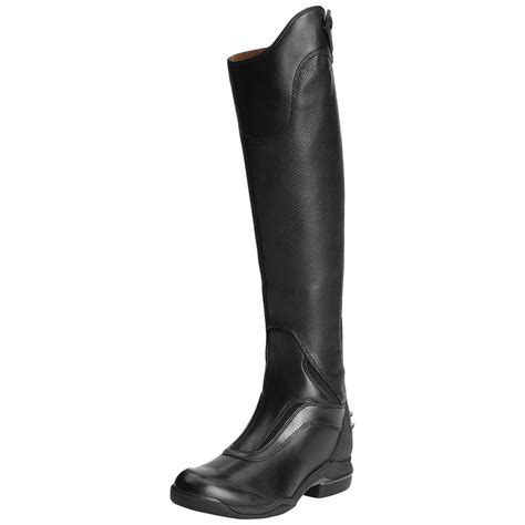 sport riding boots ariat v sport tall zip riding boot