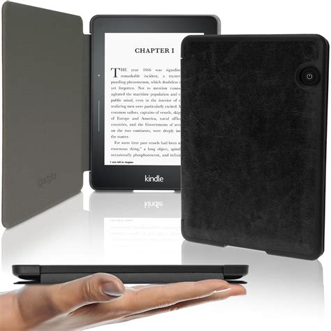 Original Flip Cover New Kindle Touch 7th Generation By slim pu leather shell cover for kindle voyage