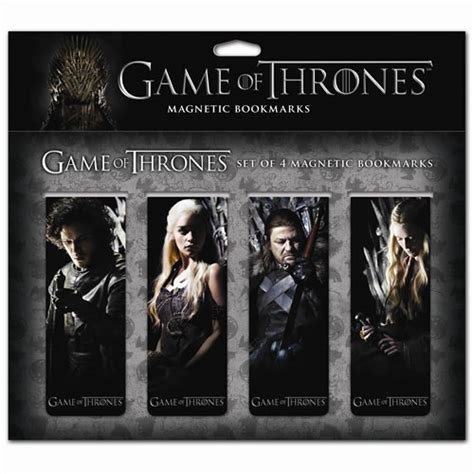 printable bookmarks game of thrones game of thrones magnetic bookmark set dark horse game