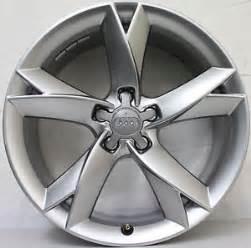 19 inch genuine audi a5 s5 limited edition 2012 wheels ebay