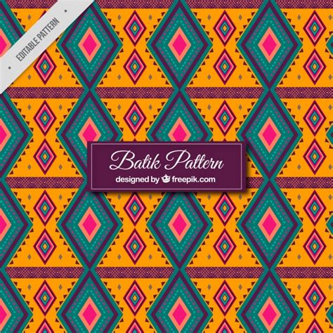 batik pattern vector ai geometric batik pattern vector free download