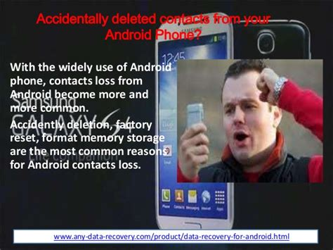 accidentally deleted photos on android how to recover contacts from android