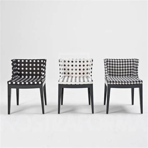 Kartell Medemoiselle chair with Starck cover » modern and