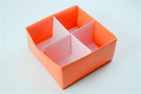 Origami Box With Divider - diy divider origami box origami