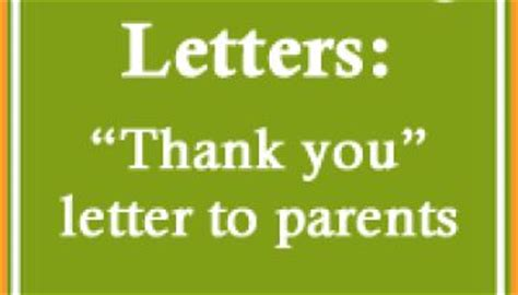 thank you letter to parents for donation 17 best images about pie on teaching word