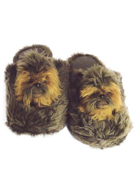 ewok slippers chewbacca slippers