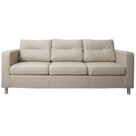 3 seater faux leather sofa next day delivery 3