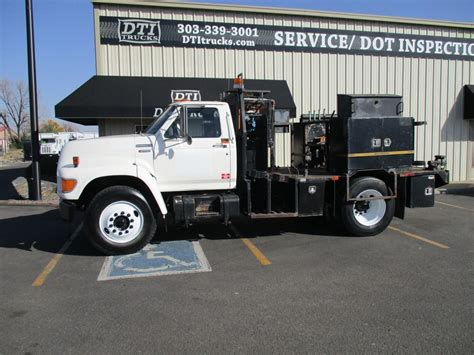 1995 ford f800 service trucks utility trucks mechanic