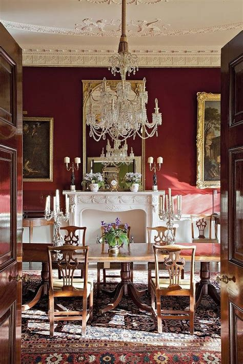 stylish victorian dining room ideas red dining room