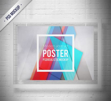 poster design horizontal 17 free horizontal poster mockup psd templates designyep