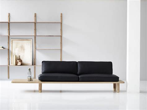 minimal furniture design the spectacular plank sofa by dk3
