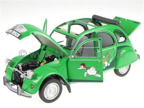 Ente Automarke by Citroen 2cv Sausss Ente Gruen Modellauto 181513 Norev 1 18