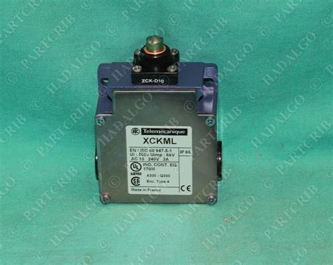 Schneider Telemecanique Limit Switch Xcj125 telemecanique xckml110 limit switch 240v xck ml110 square