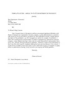 appeal letter to health insurance company