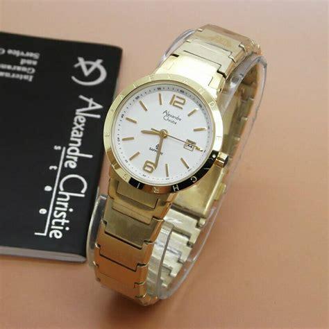 Lucciano Jam Tangan Wanita Gold jual jam tangan wanita cewek alexandre christie ac gold