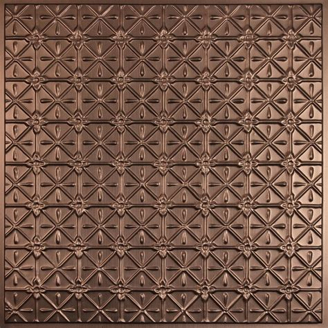 Glue Up Ceiling Tiles Canada by Ceilume Continental Faux Bronze Ceiling Tile 2 X 2