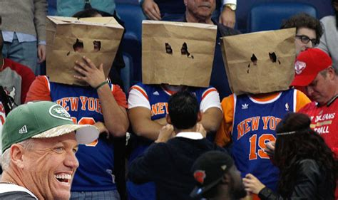 new york knicks fans knicks fan why can t team be more like the jets bacon