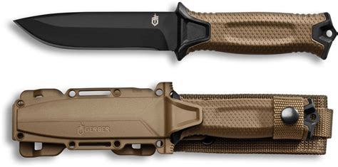 Gerber StrongArm Knife, Coyote Brown, GB 30001058