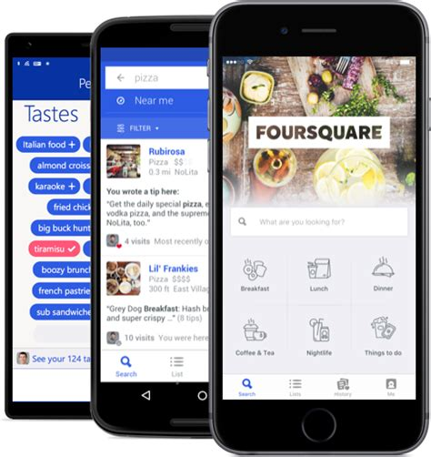 foursquare for android foursquare for your phone