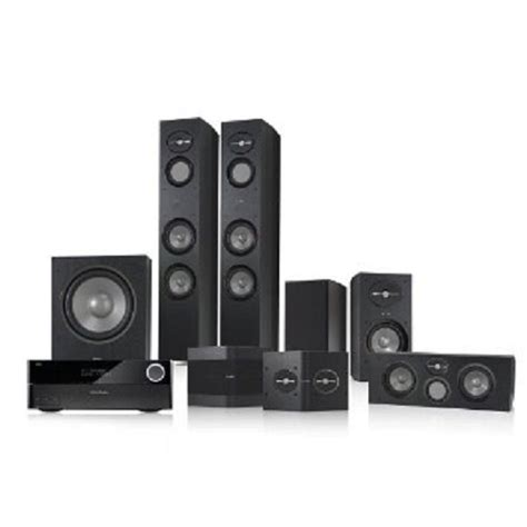 infinity reference 7 1 home theater speaker package