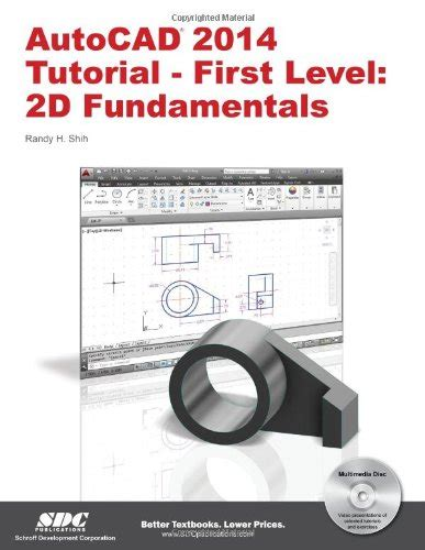 autocad tutorial book buy special books autocad 2014 tutorial first level