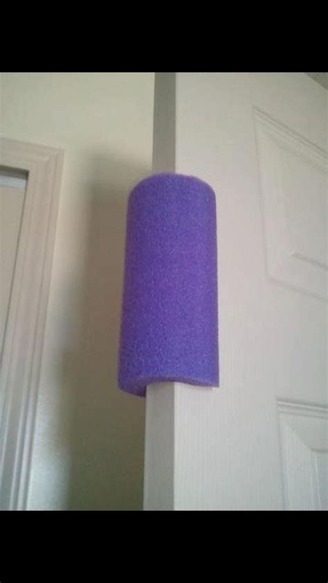Baby Smashed Finger In Door by Pool Noodle On The Door To Prevent Smashed Fingers