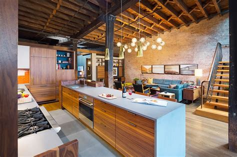 beautiful houses warehouse converted into loft in ny