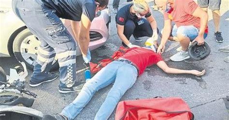 motosiklet kazalari bir tuerlue durmuyor akdeniz haberleri