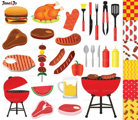 bbq clipart barbeque clipart clipart sommer grill