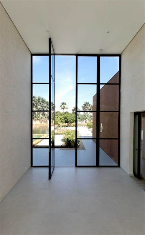 Glass And Steel Doors 23 Metal Front Doors That Are Really Inspiring Shelterness