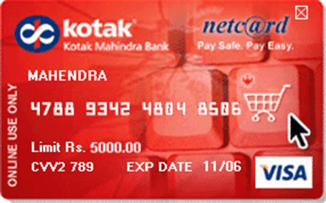 kotak mahindra bank debit card how to get a credit card from sbi icici hdfc and