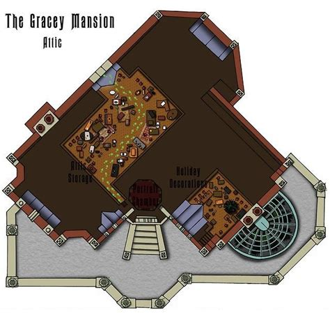 disney world floor plans haunted mansion floorplan disney pinterest mansions
