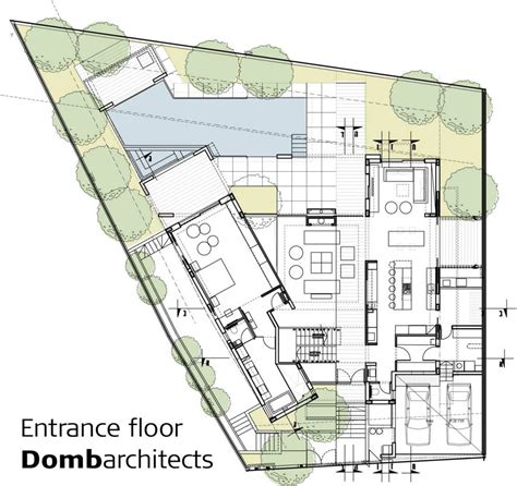 Architecture Floor Plans by Dg House Domb Architects Architecture Architectural