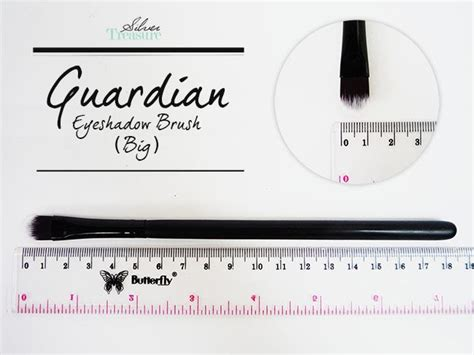 Makeup Di Guardian guardian eyeshadow brush big silver treasure