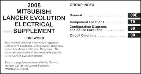 small engine service manuals 2004 mitsubishi lancer evolution regenerative braking 2008 mitsubishi lancer evolution wiring diagram manual original