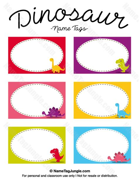 free printable name tags for work free printable dinosaur name tags the template can also