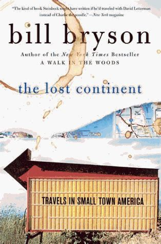 the lost continent travels 1784161802 non fiction the lost continent by bill bryson that s what she read