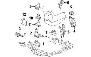 parts 174 pontiac g6 engine mounting oem parts