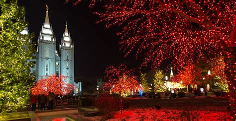 2016 temple square christmas lights and concerts church