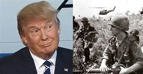 Donald Trump Vietnam | trump dodged the draft but look what shocking thing was