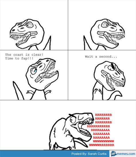 Fap Meme Generator - tyrannosaurus rex time to fap short arms memes com