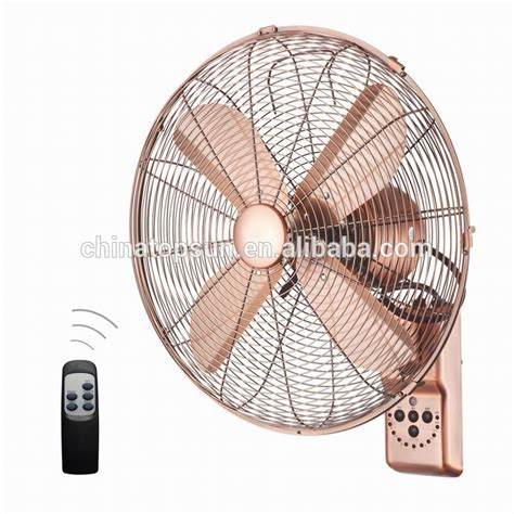 remote wall fan 12 inch metal copper remote wall fan wall mounted