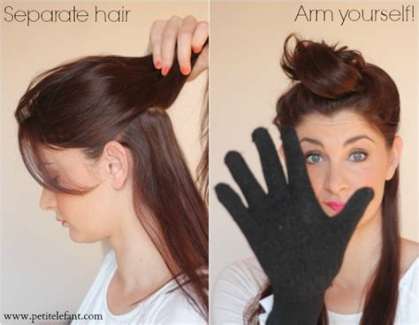 different ways to use a wand for your hair how to use a curling wand or clipless curling iron