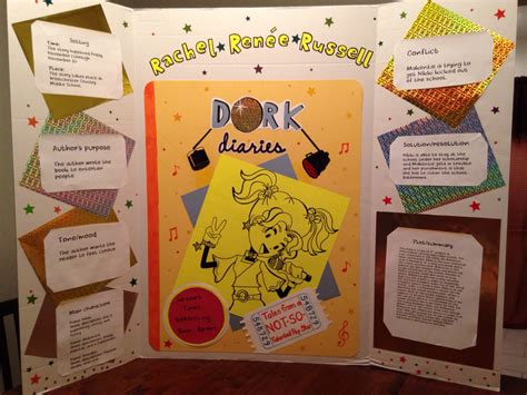 tale book report ideas my 5th graders book report project on the dork diaries