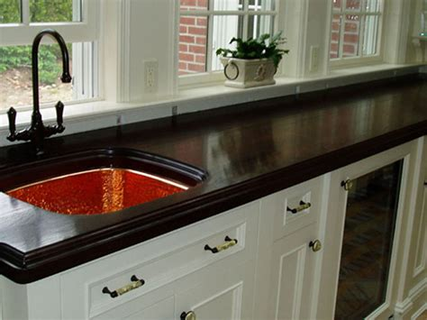 New Countertop Materials by Countertop Materials New Jersey Wood Countertops