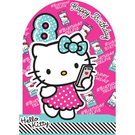 hello kitty printable greeting cards hello kitty happy birthday card jerzy decoration