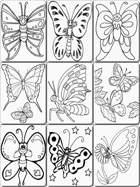 butterfly coloring pages pdf butterfly coloring pages pdf