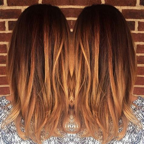 copper brown hair on pinterest color melting hair blonde hair exte blonde caramel balayage warm copper color melt