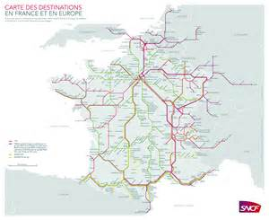 France Train Map by Large Detailed Railways Map Of France France Large